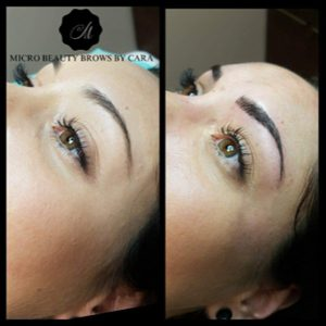 Before & After Microblading Treatment