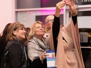 Orléans Skins Derma Care - Customer Appreciation Party taking photos