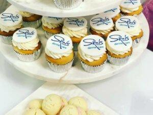 Orléans Skins Derma Care - Customer Appreciation Party Cupcake